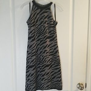 Black and silver dressey dress
